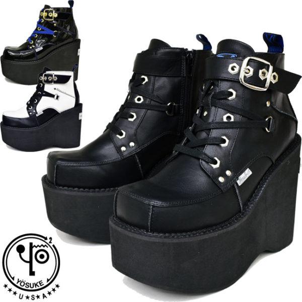 YOSUKEヨースケ厚底ブーツでおしゃれに!だんびろ甲高でも靴擦れしない?